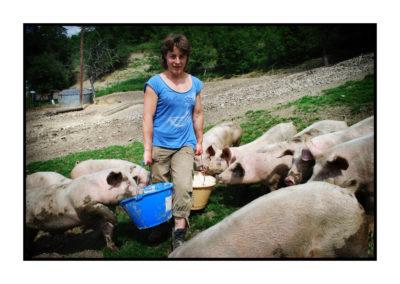 fermier-magasin de producteur-gilly sur isère-albertville- terroir-vente directe-savoie- agricultrice
