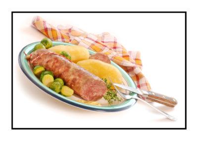 saucisson à cuire-magasin de producteur-gilly sur isère-albertville- terroir-vente directe-savoie
