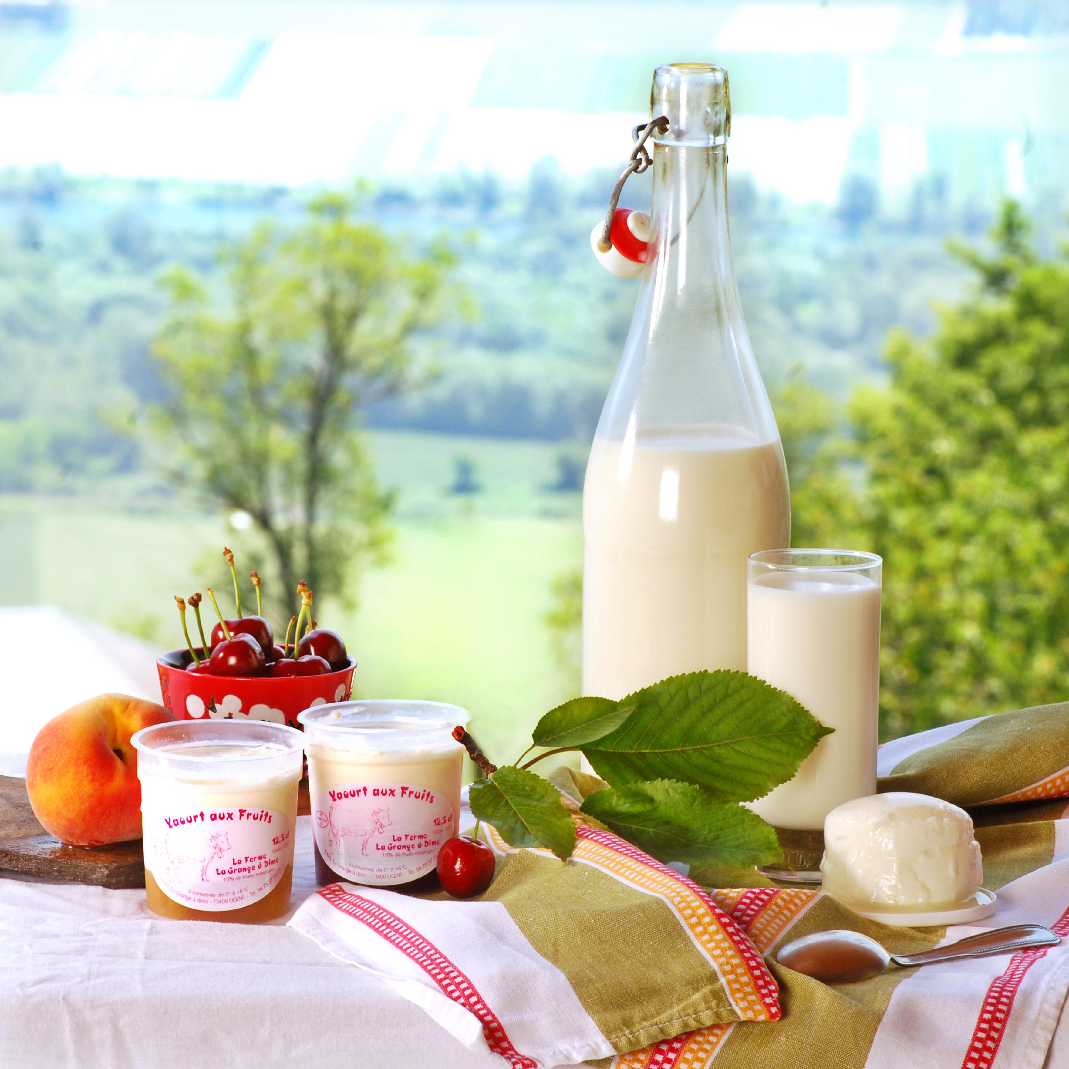 produits laitiers-magasin de producteur-gilly sur isère-albertville- terroir-vente directe