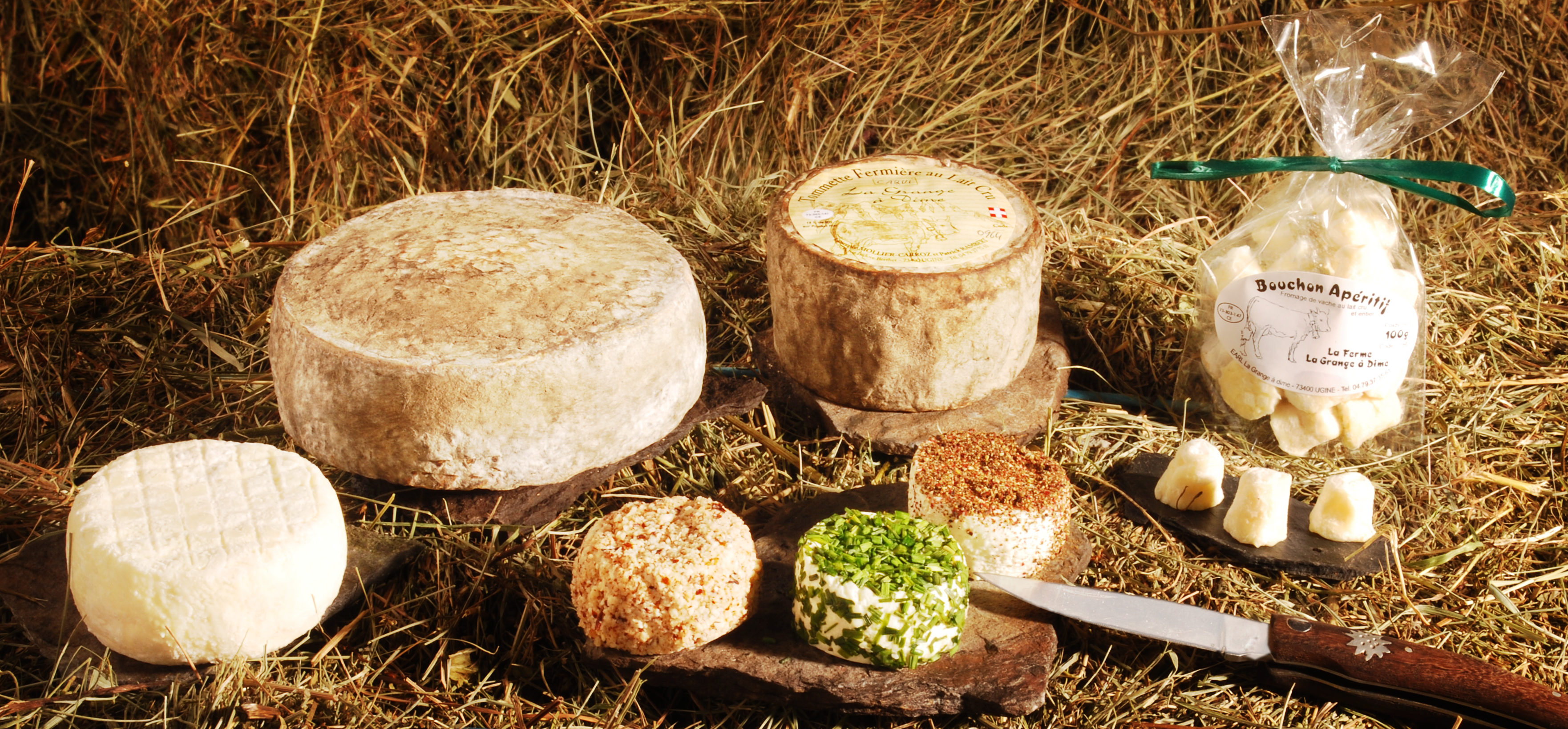 fromages de vache-magasin de producteur-gilly sur isère-albertville- terroir-vente directe