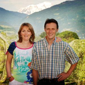 Arboriculteurs- bio-Pommes bio- locales- arboriculteur- ferme-magasin de producteurs - Gilly sur Isère / Albertville- savoie - terroir