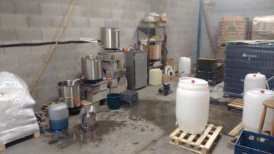 fabrication de la bière de notre magasin de producteurs à Gilly sur Isère / Albertville