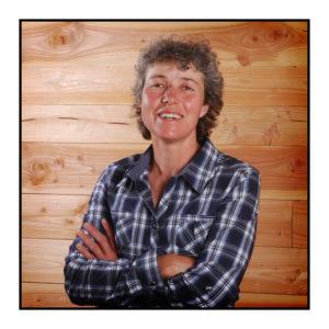 Productrice de raclette et reblochon de notre magasin de producteurs à Gilly sur Isère / Albertville